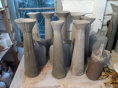a tall pots
