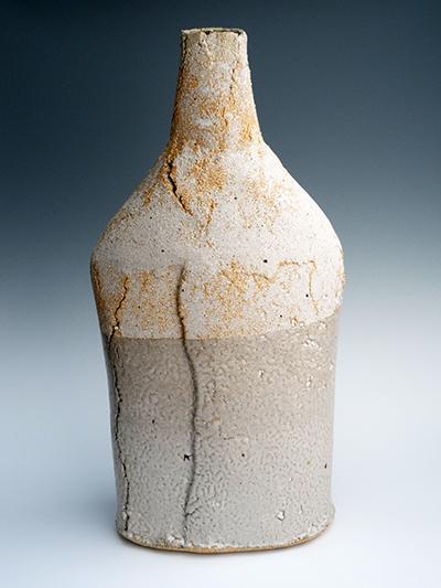 13 chalk beach porcelain inlay bottle 49 x 22 cm