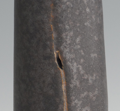 black glaze detail