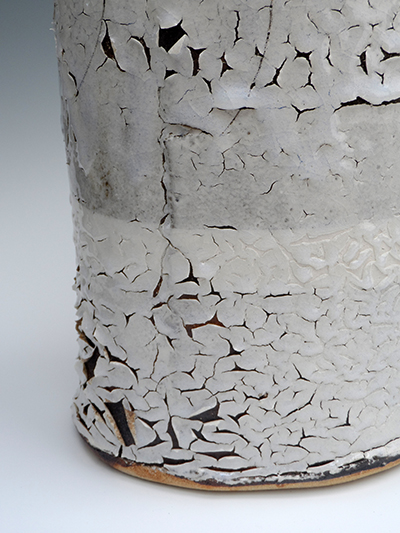 01 detail tall frozen snow flagon 51 x 22 cm